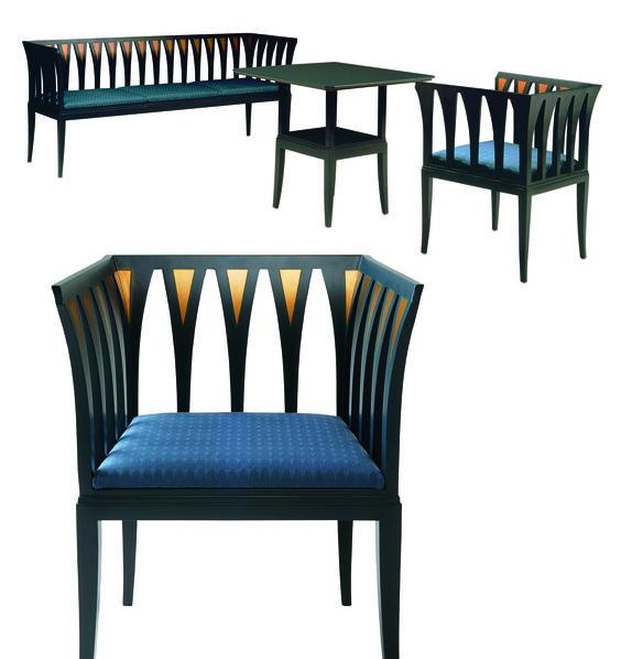 Eliel Saarinen 39 S Blue Furniture It 39 S In Reproduction