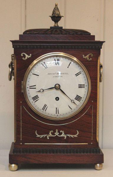 Small Regency Bracket Clock (c. 1830 London)