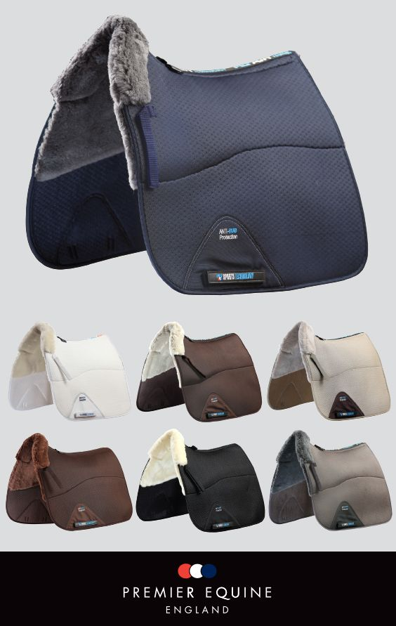 Premier Equine Airtechnology Shockproof Dressage Square Half Lined with Merino Wool, £66.99. (www.premierequine.co.uk)