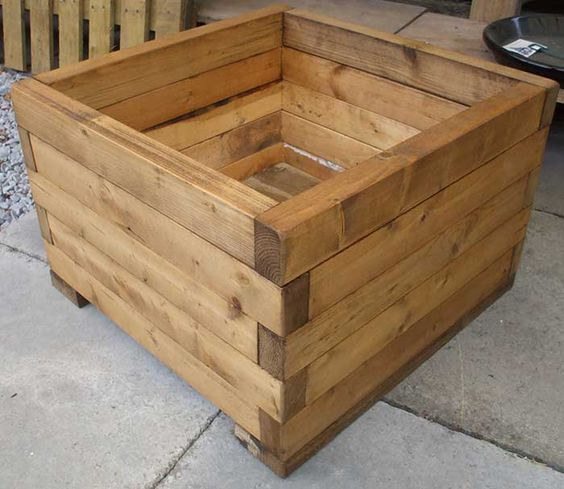 Wooden Planter Boxes Designs | Ideal for window boxes, patios and adding the finishing touches to ...