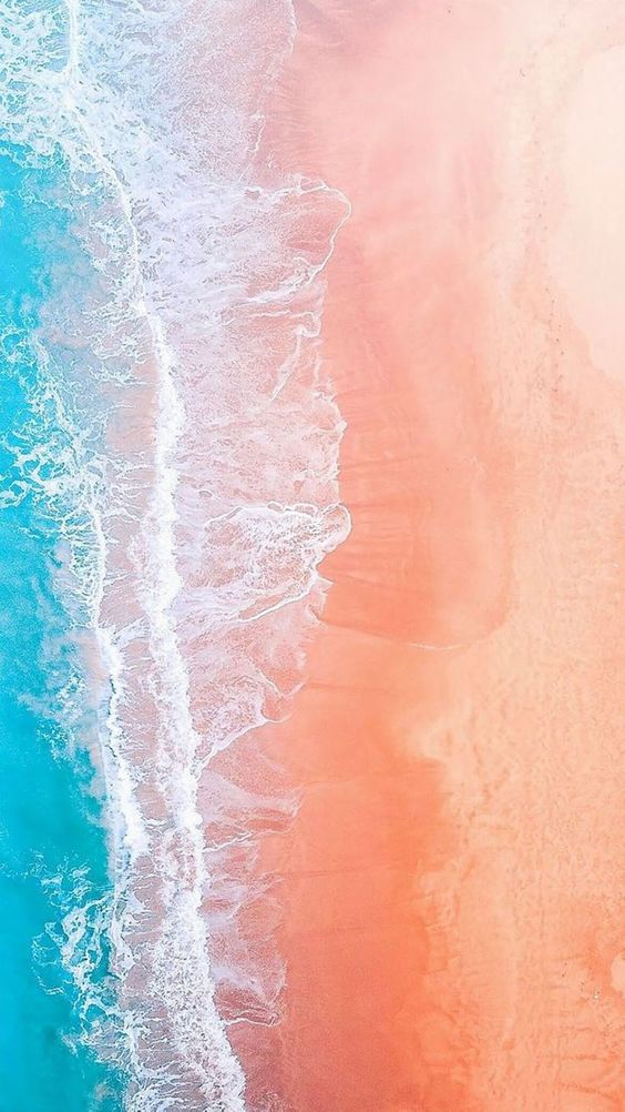 // we never go out of style #drone #shot #beach #ocean #pink #travel #wanderlust