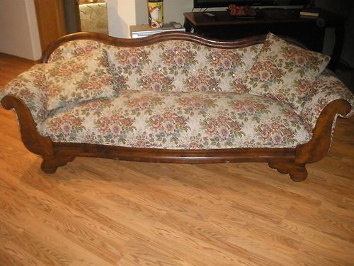 Upholstery antiques and originals on pinterest for Victorian divan