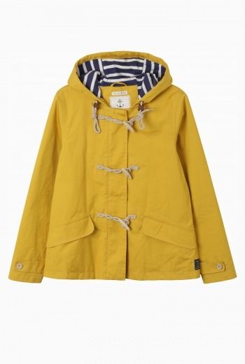yellow raincoat Seafolly Jacket | Weatherproof tin cloth duffle
