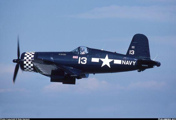f4u Corsair Flying