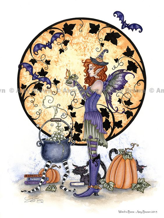 HALLOWEEN - Amy Brown Fairy Art - The Official Gallery