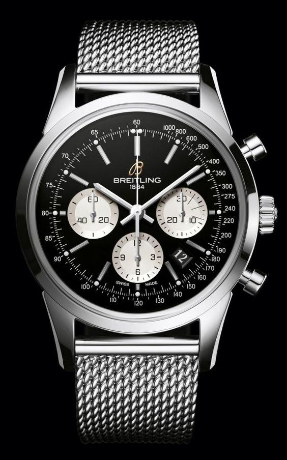 Breitling Transocean Chronograph http://www.genesisdiamonds.net/watch-designers/breitling.html