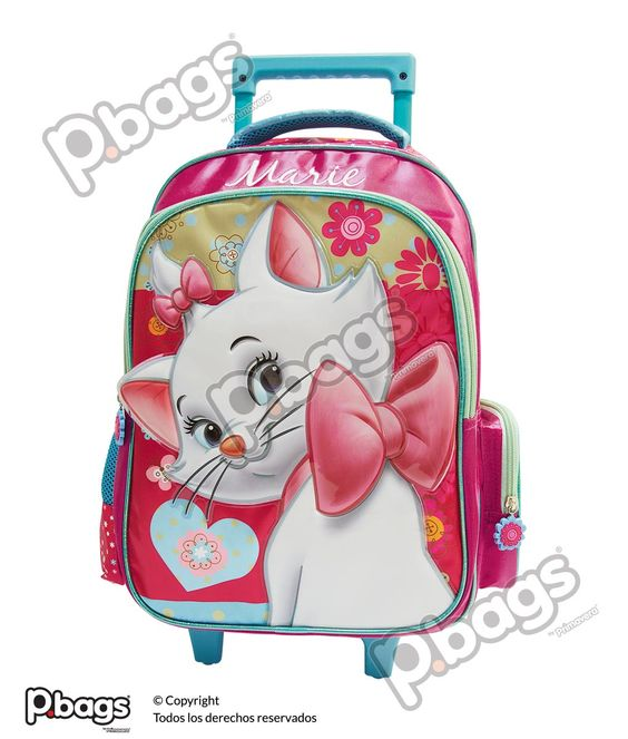 "Morral 16.5"" Con Ruedas Marie http://pbags.co/product/morral-16-5-marie-con-ruedas-p-bags/"