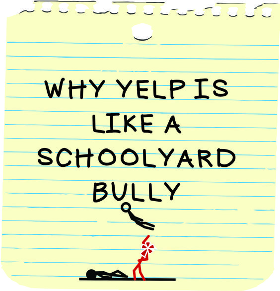 Why Yelp is Like a Schoolyard Bully - Infinity Insights #reviews