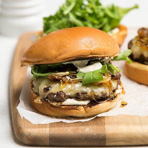 Caramelised Onion Beef Burger Recipe Caramelized Onions Beef Burger Burger