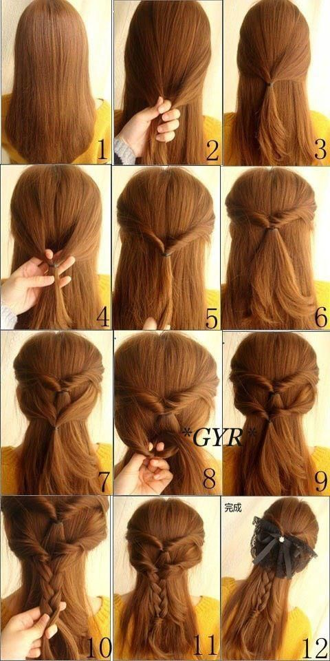Nice Really Easy Hairstyles New Really Easy Hairstyles 20 In Hairstyle Men With Really Easy Hairstyles Hair Styles Diy Hairstyles Long Hair Styles