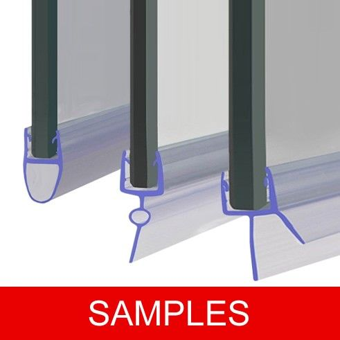 Here We Have Our Full Range Of Shower Screen Seals Covering All