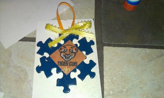 Cub Scout Craft Christmas Ornament