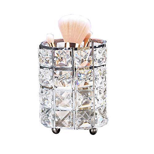 Pin By Fernanda Cristina On Alyssa S Room In 2020 Makeup Collection Storage Makeup Brush Holders Diy Makeup Brush Holder