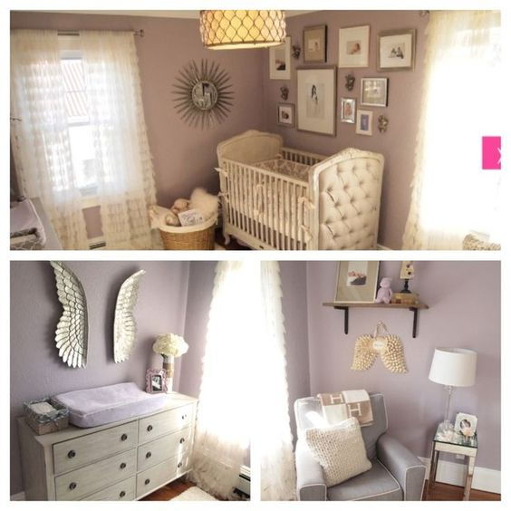 Benjamin moore purple and paint on pinterest for Dusty rose wall color