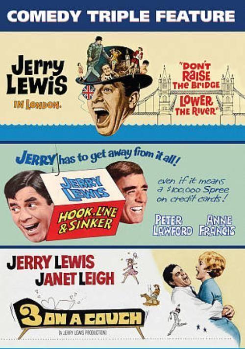 Hook Line /& Sinker Jerry Lewis vintage movie poster