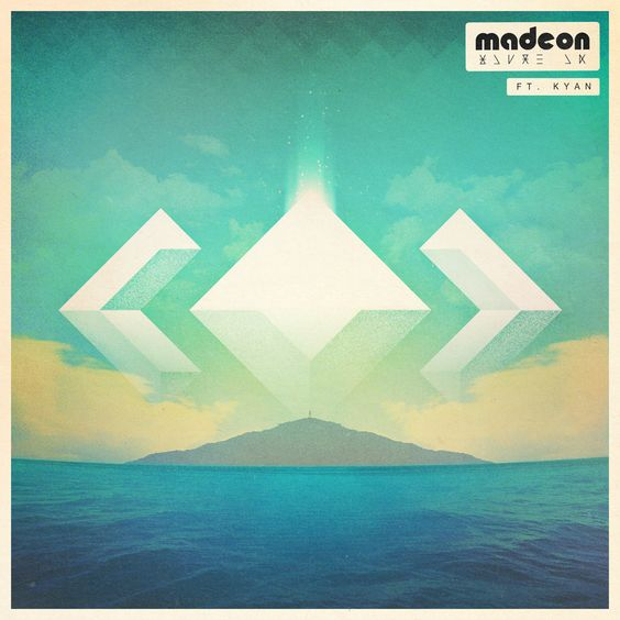 Madeon, Kyan – You're On (single cover art)
