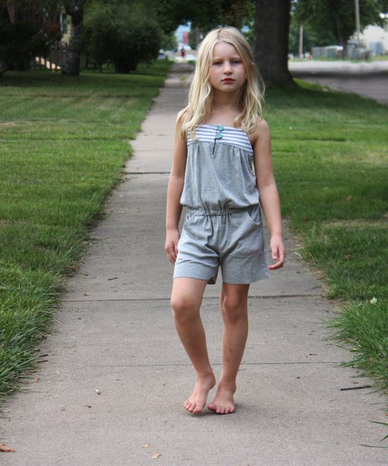 adorable figgy's zephyr romper by noodlehead