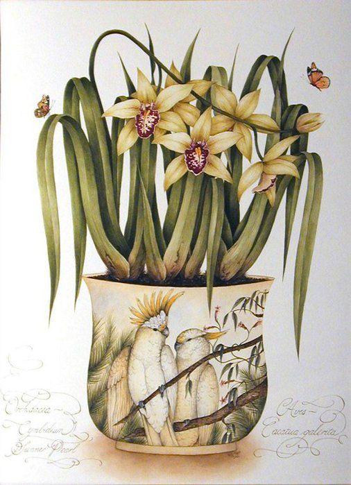 Flowers Watercolor Kelly Higgs ...