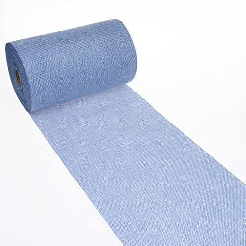 Deko As Shabby Chic Leinenoptik Tischlaufer Polyester Geruchsneutral Hellblau 5 M 20 Cm Deko As Gmbh Amazon De Kuch In 2021 Tischlaufer Shabby Tischlaufer Blau