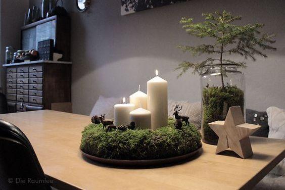 den ersten advent habe ich am letzten sonntag elegant. Black Bedroom Furniture Sets. Home Design Ideas