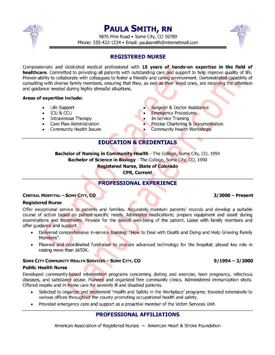 Er Nurse Nursing Resume Examples Rn Resume Nursing Resume