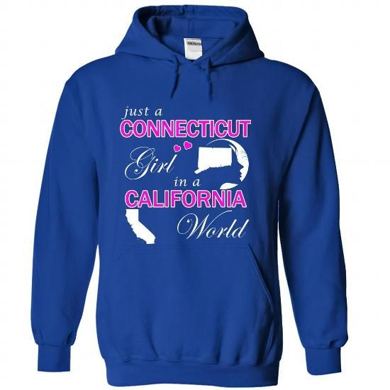 Just a Connecticut Girl in a California World #clothing #TShirts
