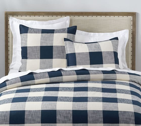 Bryce Buffalo Check Duvet Cover Bed Linens Luxury Duvet Covers Duvet Cover Master Bedroom