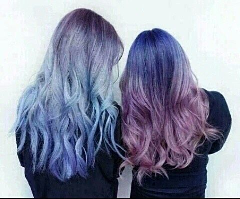 #cute colored hair