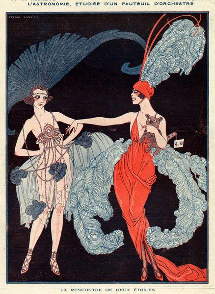 hoodoothatvoodoo: La Vie Parisienne, 1918. George Barbier.