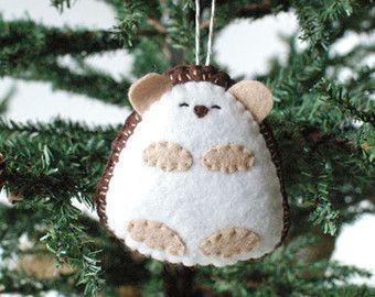 Parure motif ornement de Noël Softie motif en par sosaecaetano