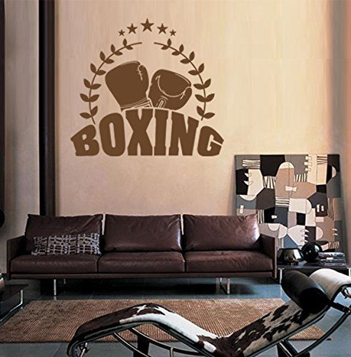 Ik1381 Wall Decal Sticker Kick Boxing Ring Gloves Tournament Living Room Gym StickersForLife http://www.amazon.com/dp/B00Z39UO7C/ref=cm_sw_r_pi_dp_rJeDvb10D5K4S