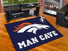 Denver Broncos Area Rug Perfect For The Living Room Free Shipping