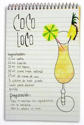 Receta cóctel Coco Loco - Descubre Catabox - Packs Gin Tonic y Vino - El regalo perfecto para los amantes de las cosas buenas y bonitas