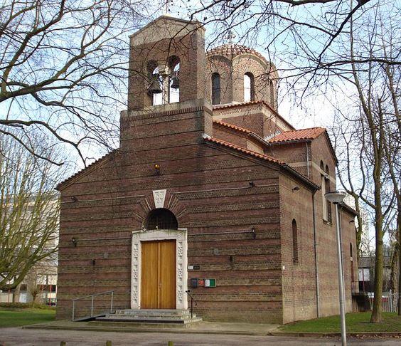 Griekse kerk, Westzeedijk, Rotterdam