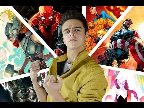 FASE 4 del Universo Cinematográfico de MARVEL / Andrés Navy - YouTube