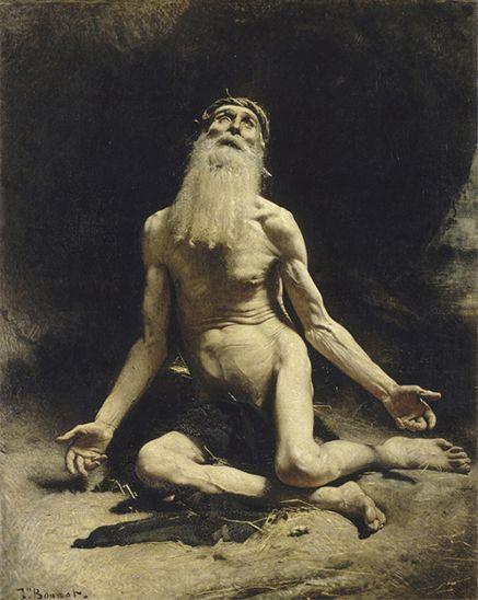Léon Bonnat. Job. 1880. Museo de Orsay, París.