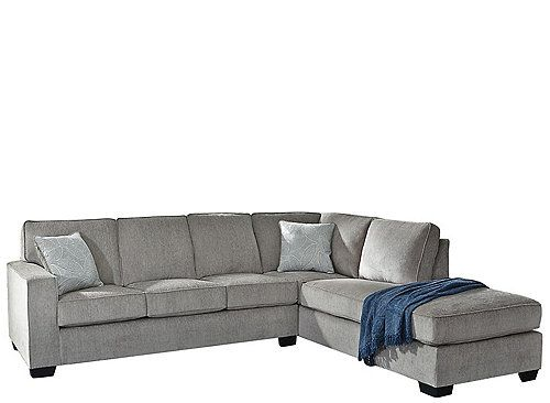 Adelson 2pc Sectional In 2020 Sectional Sofa 2 Piece Sectional