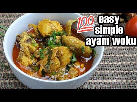 Cara Masak Ayam Woku Resep Ayam Woku Kemangi Pedas Youtube Resep Ayam Kemangi Makanan
