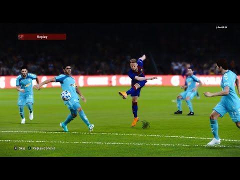 Barcelona Vs Osasuna Full Match Goal Highlights Pes 2020 Gameplay In 2020 Full Match La Liga Goals