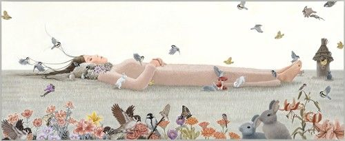Lullaby by Erika Yamashiro - Contemporary Japanese Art Collection by Jean Pigozzi