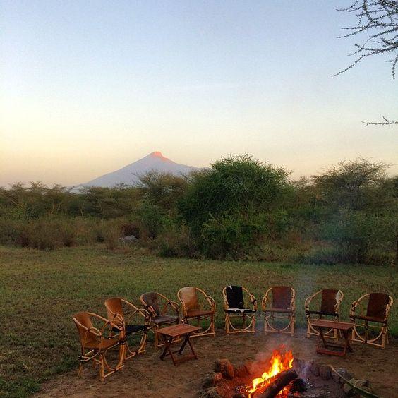 Sunrise. Mount Meru. #Tanzania #Africa