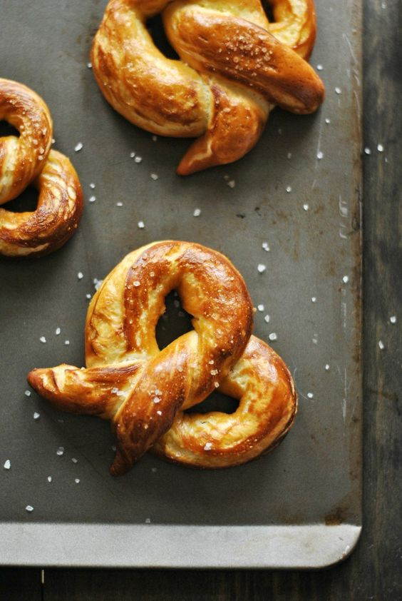 Homemade Soft Pretzels | Homemade soft pretzels, Homemade and Recipes