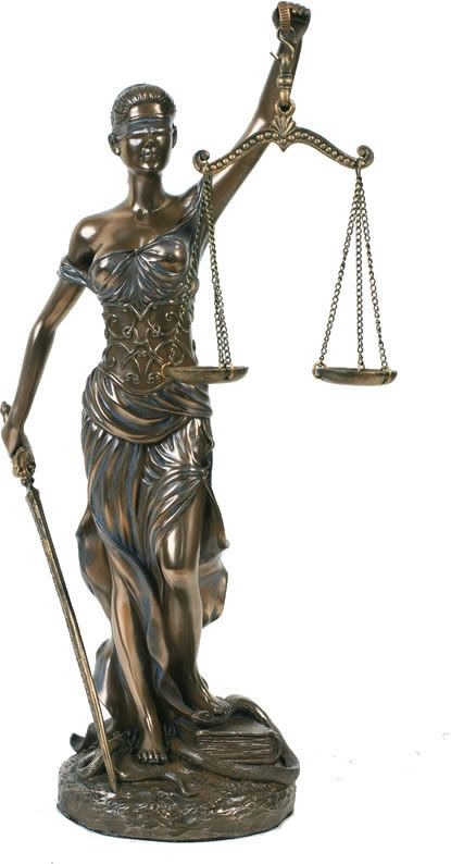 Blind Lady Justice Statue 12 Inch Pt Home P8223 In 2021 Lady Justice Statue Lady Justice Justice Statue