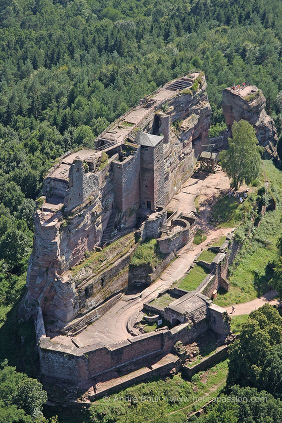 Château de Fleckenstein : département du Bas-Rhin