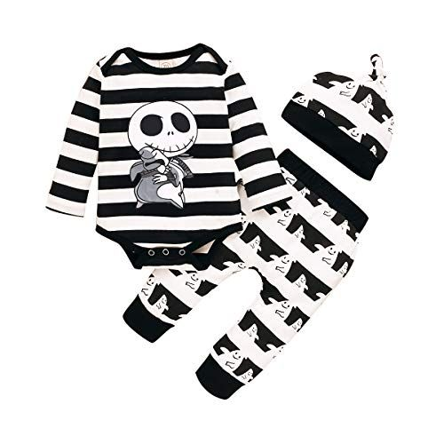 toddler Halloween Outfit Halloween Pajamas Halloween Outfit Baby Halloween Outfit Nightmare before Christmas Outfit Orange and black