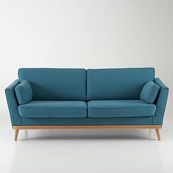 Canapé vintage 3 et 4 places, Tasie La Redoute Interieurs | La Redoute Mobile