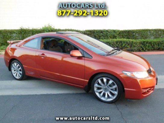 Coupe 2009 Honda Civic Si Coupe With 2 Door In La Puente Ca 91744 Honda Civic Si Coupe Honda Civic Si Honda Civic