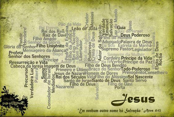 Todos os nomes atribuídos a Jesus - de A a Z - Rocha ferida