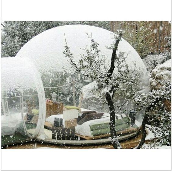 DER Neuste Trend Bubble Tent Klarsicht Dome Zelt Camping Festzelt 3 5 Personen | eBay