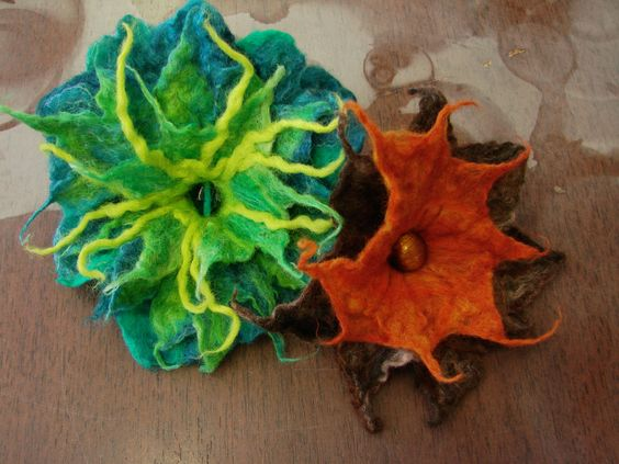 Flower Felting | by KirstyWallace-Diva